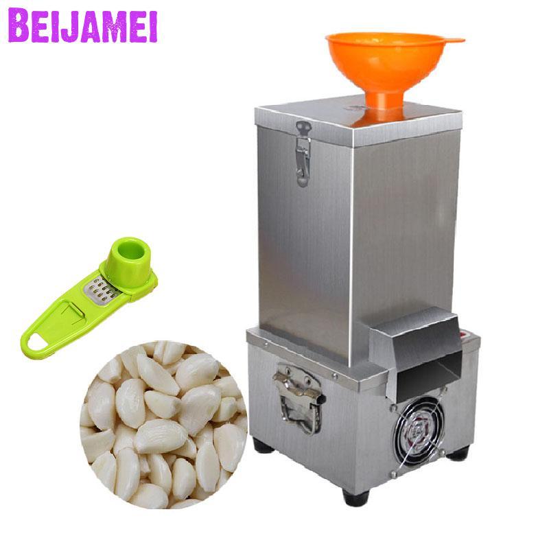 BEIJAMEI Gift 110v 220v garlic peeler machine 180w garlic peeling machine for small capacity electric garlic