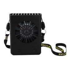Multi-Functional Rechargeable Hanging Mini Fan 3 Speeds Handheld Portable Fans Home Office Travel Air Cooling Desktop Usb Fan цена и фото