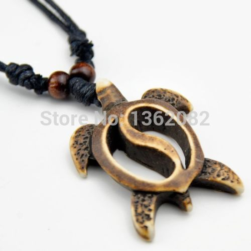 Fashion handmade faux bone hawaiian honu turtle pendant surfing fashion handmade faux bone hawaiian honu turtle pendant surfing necklace lucky gift yn458 aloadofball Gallery