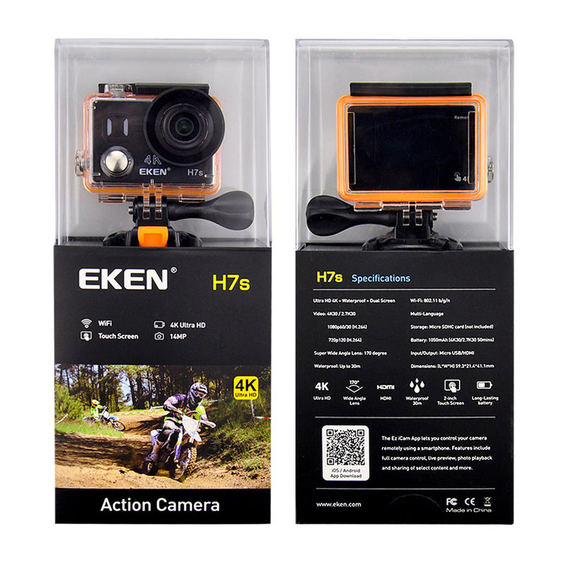 EKEN Ultra HD 4K 30FPS WIFI Actie Camera waterdicht 14MP 1080p 60fps - Camera en foto - Foto 5