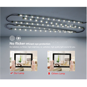 Image 2 - High Brightness 5730 LED Bar Lights LED Tube for Ceiling Lamp with good quality Power Driver AC220V only