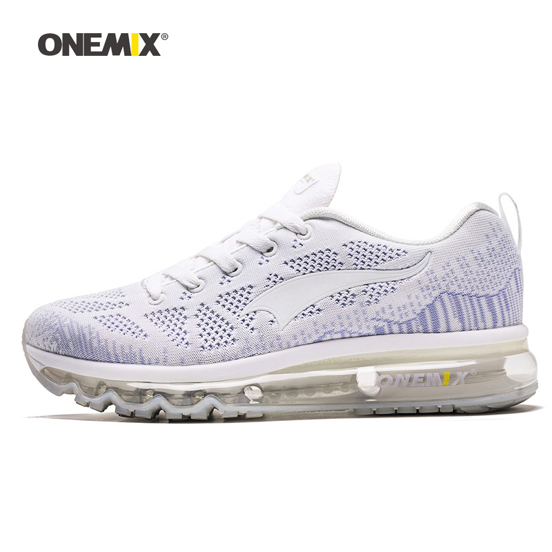 ONEMIX Woman Running Shoes For Women Nice Zapatillas Athletic Trainers White Sports Air Cushion Outdoor Jogging