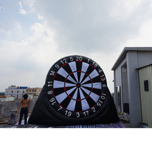 3 Free Soccer Ball With Inflatable Foot Darts Dart Board Game Inflatable Soccer Dart