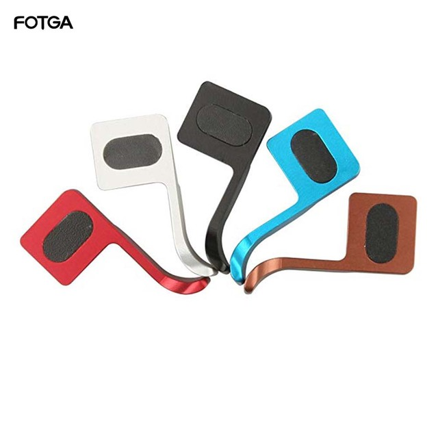 Fotga Serie Thumbs Up Grips voor Canon EOS M G11 G12 G15 G1X NIKON P7100 P7700 COOLPIX EEN, fujifilm X100 X100S X E1 X20 X pro1 Pe