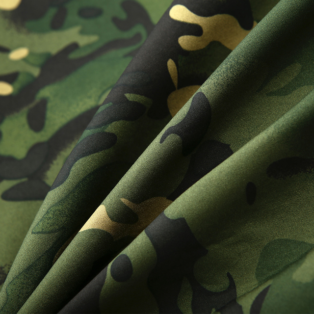 Mege Brand Clothing Autumn Men's Military Camouflage Fleece Jacket 5
