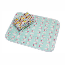 Hot Sales 50*70 Big Size Baby Waterproof Diaper Pad Changing Pad Reusable Baby Nappies Diaper 7 Style Animal Urine Bed Mat -30