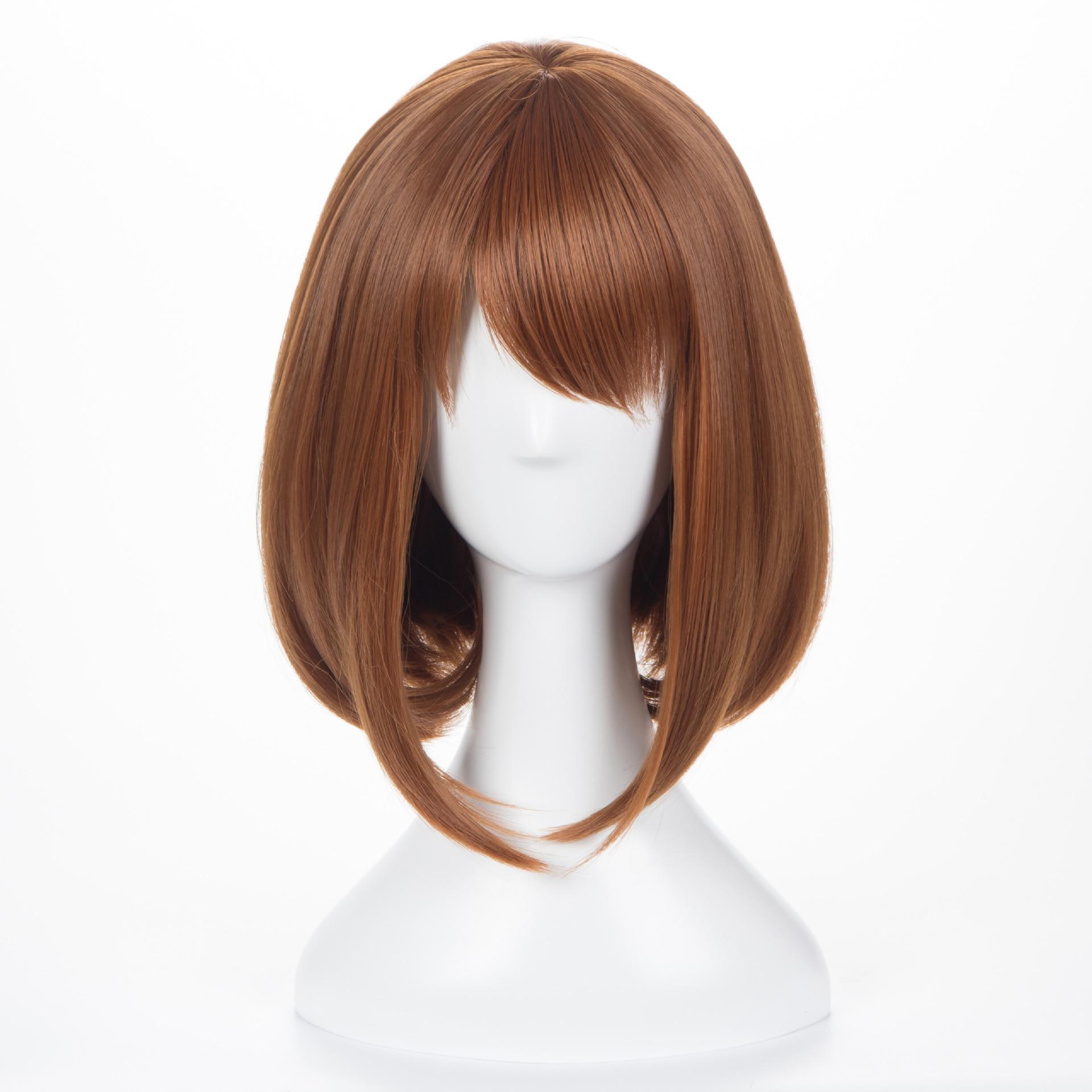 OCHACO URARAKA Wig Anime My Boku No Hero Academia OCHACO URARAKA Wig Headwear