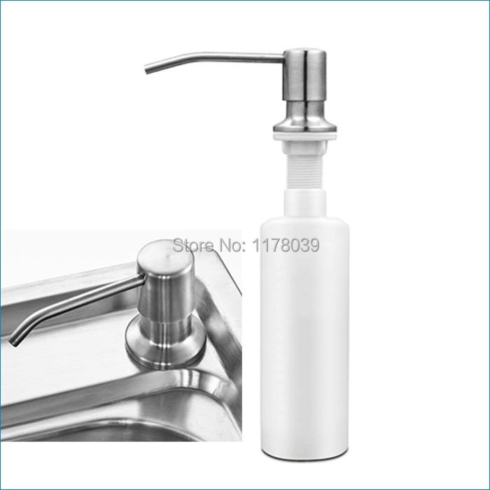 kitchen sink soap dispenser bottle magnetic timer pump plastic bottles liquid free shipping j15324 in dispensers from home