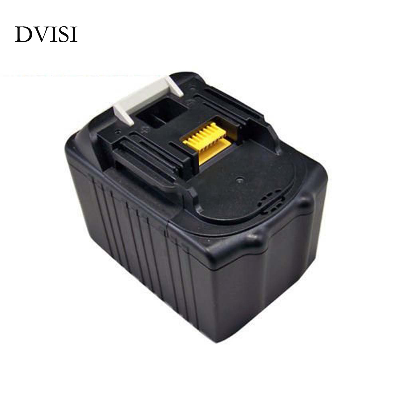 DVISI 4500mah Power Tool Battery for MAKITA 18V 94205-3 BL1830 BL1815 LXT400 BDF452 BHP452SHE BDF453SHE BDF454Z BFR550L BL1845 cm 052535 3 7v 400 mah для видеорегистратора купить