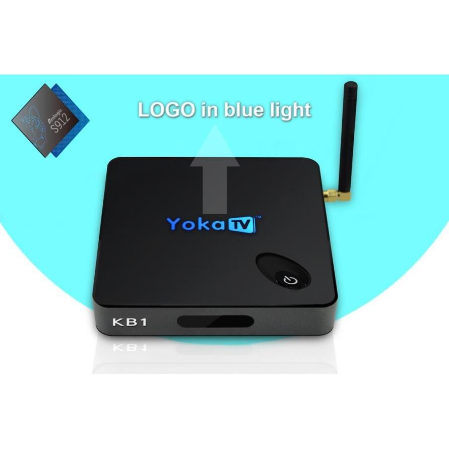 BK1 S905X Android 6.0 TV Box Quad-Core 2GB DDR3 + 16GB WiFi HD Media Player