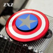 ZXZ Hand Spinner Captain Of American Shield Metal Fidget Spinner Toys