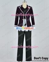 Diabolik Lovers Cosplay Subaru Sakamaki Purple Uniform Costume H008