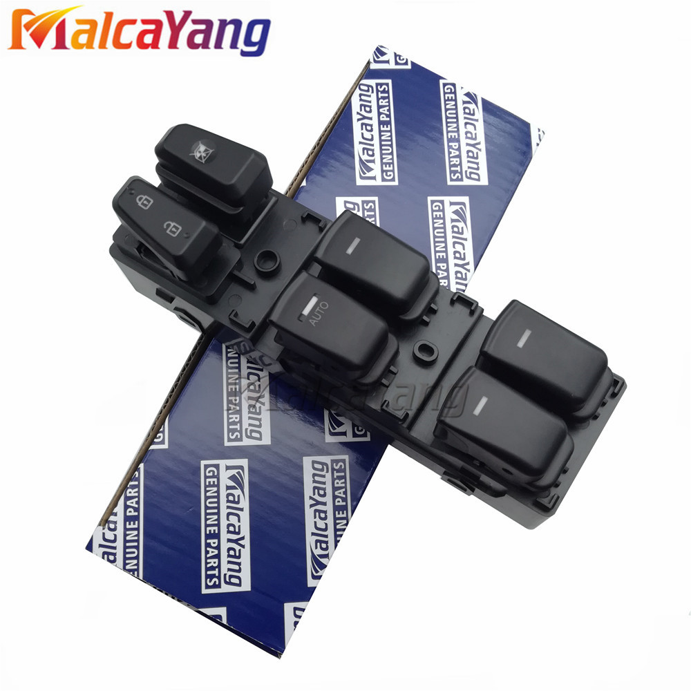 93570-3S000RY 93570-3S000 935703S000 935703S000RY High Quality Power Window Lifter Master Control Switch For 2011-2014 Sonata 93570 0z010 driver master power window lifter control switch assembly side mirror folding switch button for hyundai i30