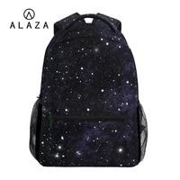 ALAZA Starry Sky Galaxy Printing Big Capacity Travel Bag Backpack Women Boys Student School Bag Laptop Backpack NEW