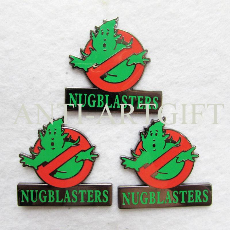 2 шт логотип охотников за привидениями брошь с отворотом