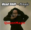 New Head Shift Magic Tricks/Fun, Toys,Props/Amazing Magic Show