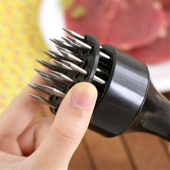 Kuchnia jadalnia i Bar delikatne mięso igły zawód mięso urządzenie do rozbijania mięsa igła ze stali nierdzewnej narzędzia kuchenne mar15 tanie i dobre opinie Mięso i drobiu narzędzia Zaopatrzony Ekologiczne TENSKE Tender meat needle Ce ue Plastic + stainless steel needle 19*4 6 cm 7 5*1 8 inch