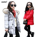 2017 New Arrival Fashion Girls Winter Coat Children's Down Jacket  Girls Thick Winter Slim Down Free Shipping