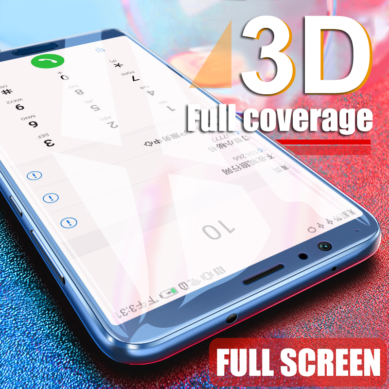 Image 4 - 3D Full Cover Tempered Glass For Huawei P20 Lite Pro Screen Protector cover for Honor 10 9 8 Lite 8X 8C 8A Glass Protective Film-in Phone Screen Protectors from Cellphones & Telecommunications