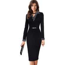 2016 Women Sexy Black Fake Two Piece Patchwork Casual Summer Dress,Vestidos Cocktail Party Bodycon Office Work Dresses