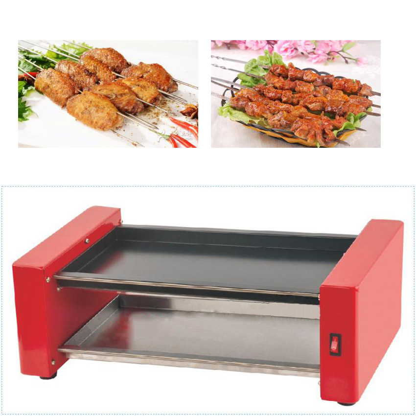 ФОТО 1 PC Small electric oven machine for home small electric  grill  equipment FY-570 A