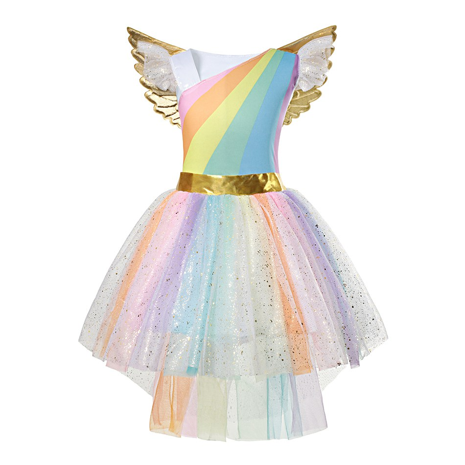 Rainbow Unicorn Dress (2)