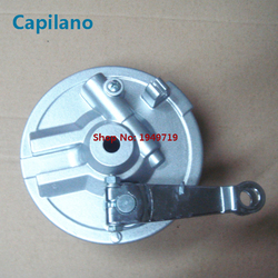 Motorrad CG125 vorderrad hub bremse abdeckung mit bremse schuhe und tacho getriebe für Honda 125cc CG 125 ersatzteile