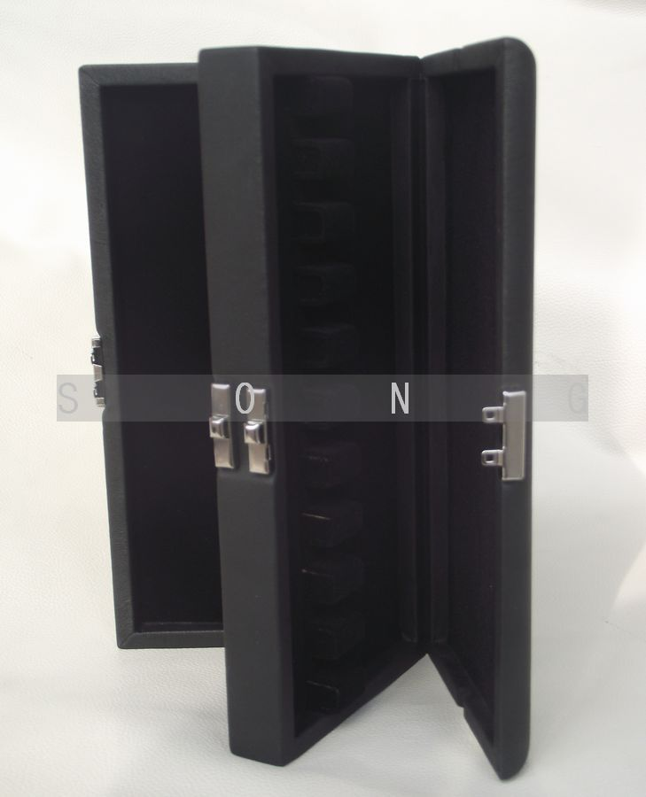 Bassoon reeds case hold 20 pcs reeds box Black color