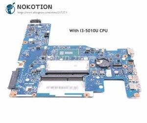NOKOTION 5B20H14411 For Lenovo G50-80 Laptop Motherboard SR23Z I3-5010U CPU ACLU3/ACLU4 UMA NM-A362 MAIN BOARD(China)
