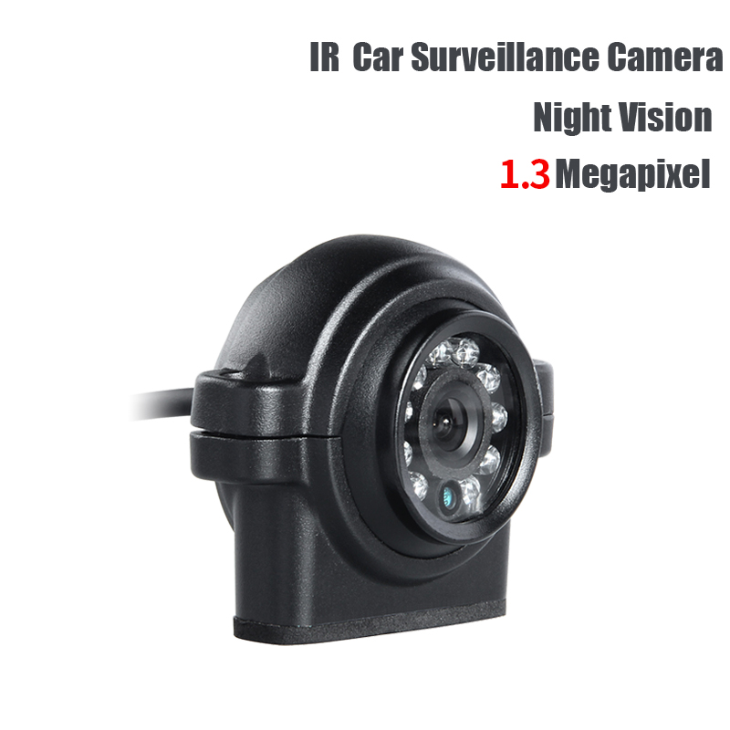 AHD 1.3MP 3.6mm lens PAL Car Mini Camera Outdoor Waterproof IR Night Vision Rear View Backup Camera for Truck Vans Bus Record water resistant 2 4ghz wired car rear view camera w 7 ir night vision led black pal
