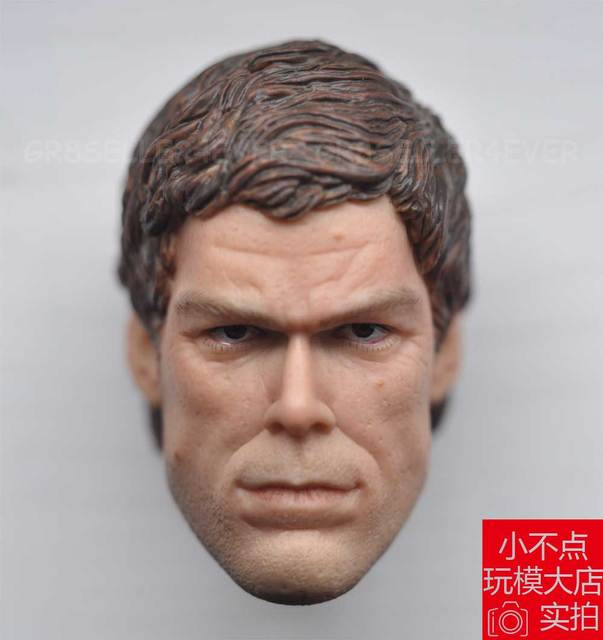 1 6 scale dexter morgan michael c hall head sculpt in action toy