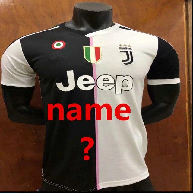 2a2049aaf27 2019 Juventus shirt DYBALA HIGUAIN D. COSTA Cristiano Ronaldo  7 2019 juve  New Design t shirts men t-shirt Football jersey 1