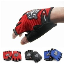 half finger men women mountain gloves bmx mtb gym gloves guantes ciclismo racing riding breathable shockproof