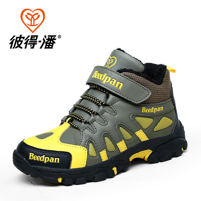 Boys Hiking Shoes Nonslip Children Sport Shoes TPR Kids Sneakers Children Shoes China Shop Online