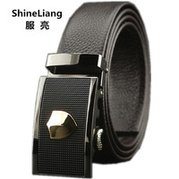 2015 New Style Men S Genuine Leather Belt OL Style Belts For Men