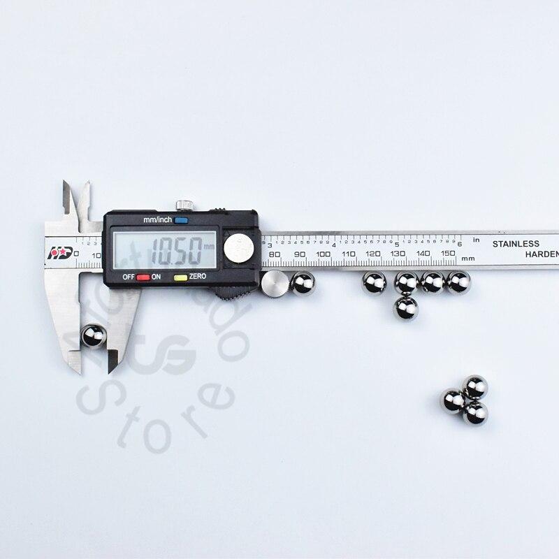 10,5 мм 0,4133858 (в дюймах) 10 штук хромированные стальные шарики подшипника Бесплатная доставка Диаметр: 10,5 (мм) 10 шт./компл. точность: G10-Grade