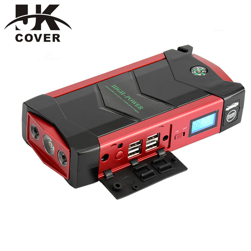 JKCOVER 600A Peak Port Discharge Car Jump Starter 18000mAh Phone Power Bank Multi Function 12V Auto