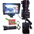 38-45 Zielfernrohr Hinzufügen Auf DIY Nachtsicht Scope w LCD Monitor Halterung IR Laser Taschenlampe für Taktische fernglas Zielfernrohr 100m/ 200M