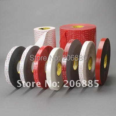 3M VHB 4991 double sided tape/ acrylic adhesive/Outstanding durability performance/ 15mm*16.5m*5rolls/we can offer other size 3m acrylic tape vhb 4991adhesive double sided tape outstanding durability performance 0 5 in 18yd 5rolls we can offer other size