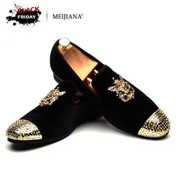 Мужские лоферы, кожаная мужская повседневная обувь ручной работы, модная удобная дышащая мужская обувь