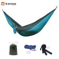 FF Camping Survival Gammak Base Garden Hunting Swing Leisure Travel Hammock Double Person Portable Parachute Outdoor