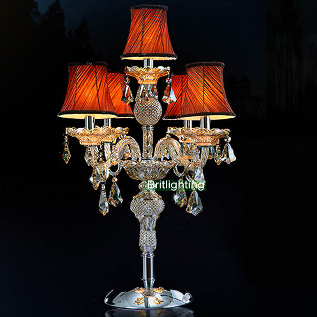 contemporary table lamp bedroom led table light candle modern bedside table  lamp wedding candelabra living room led desk lamp