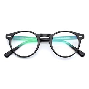 Image 4 - Gregory Peck rétro, monture de lunettes optiques Vintage, pour hommes et femmes, lunettes en acétate
