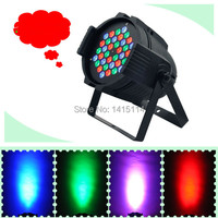 Cheap dj equipment 36pcs RGBW 3W LED PAR LIGHT DMX Stage lighting wash effect for bar