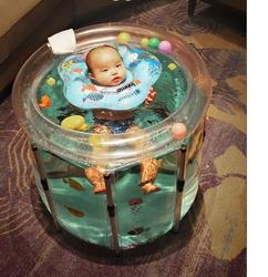 Baby badewannen Aufblasbare Badewanne Sicherheit PVC Verdickung Eines Waschbeckens Tragbare Baden Badewanne für Kid Kleinkind Neugeborenen Vier Größe