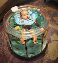Bathtubs Newborn Baby Inflatable Washbowl Toddler for Kid Four-Size Safety Thickening