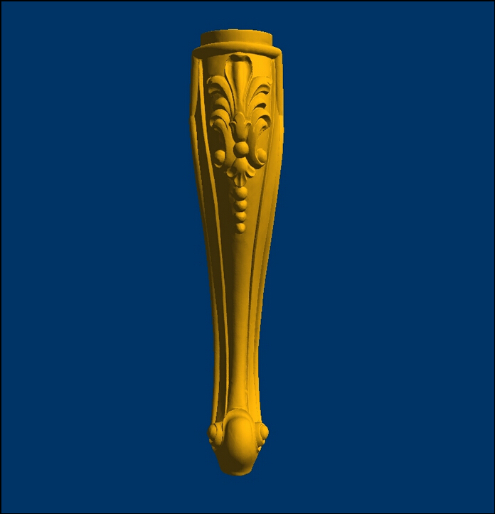 New 3D Models For CNC STL Format Relief Chair/table Legs--50