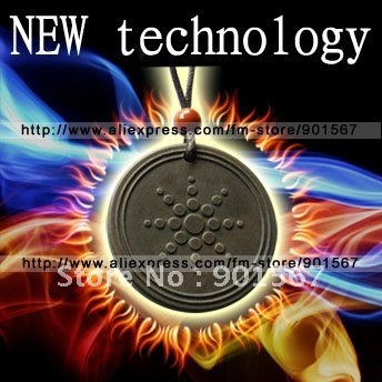 [MOQ 1 Piece] Anti-aging NEW Quantum Scalar Energy Pendant with Far-infrared Ray and ions health pendant Free Shipping