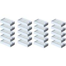 20 шт. Hepa фильтр для Ilife V5 V5S V3 V3S V5Pro V50 V55 X5 V5S Pro Запчасти для робота-пылесоса