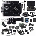 """Câmera ação F60R/F60 2.0 """"4 K 1080 P HD câmera esporte wi-fi câmera à prova d' água 30 m ir pro estilo + bateria extra mini Pro câmera cam"""